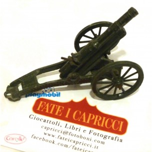 VINTAGE - CANNONE GIOCATTOLO ANNI '50 BRITAINS MADE IN LONDON