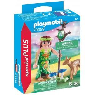 PLAYMOBIL-SPECIAL PLUS-FATA CON CERVO
