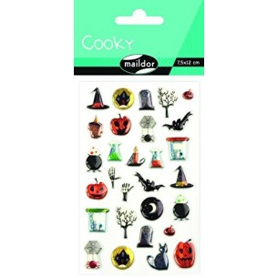 COOKY-STICKERS SOGGETTO HALLOWEEN