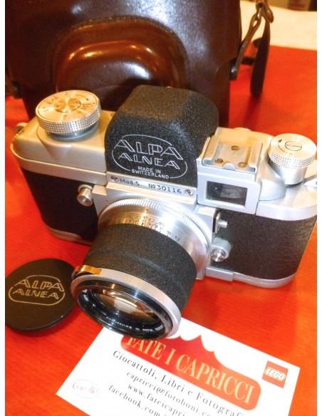 ALPA ALNEA CON 50mm.1,8 - APPARECCHIO FOTOGRAFICO D'EPOCA