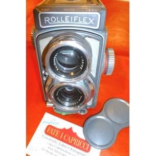 ROLLEIFLEX 4 X 4 GRIGIA - DA COLLEZIONE ANNI '50