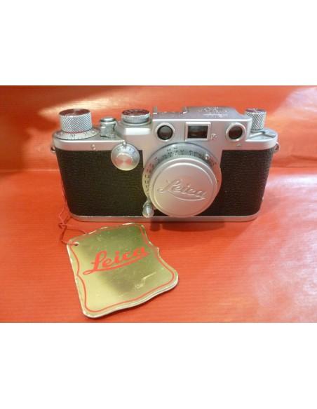 LEICA VINTAGE III F. - A VITE CON 50 mm. ELMAR e BORSA e SCATOLA