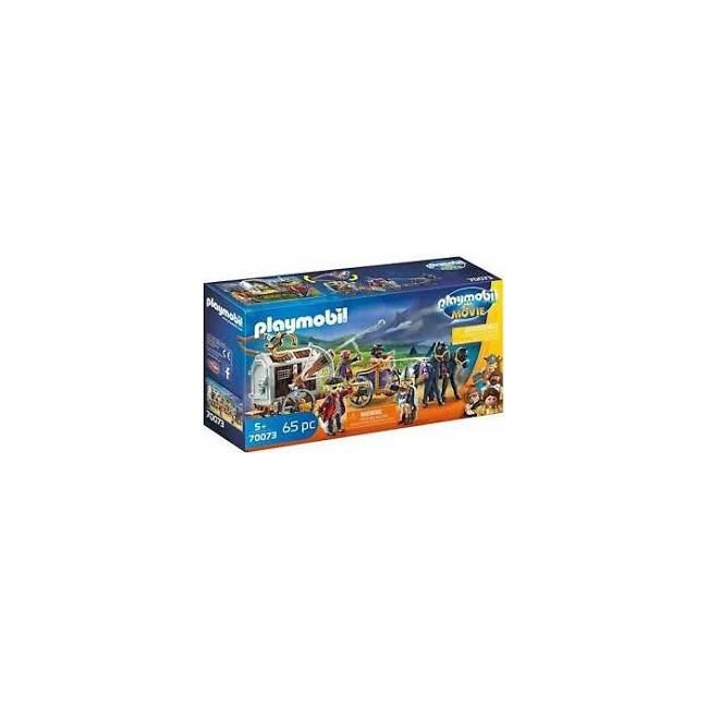 PLAYMOBIL MOVIE 70073 - CHARLIE CON CARRO PRIGIONE