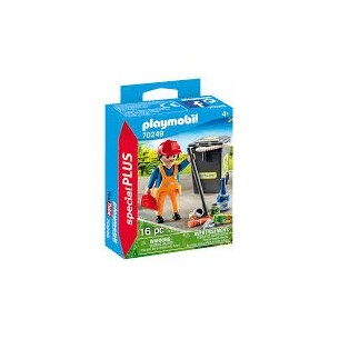 PLAYMOBIL 70249 - OPERATORE ECOLOGICO SPECIAL PLUS