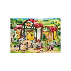 PLAYMOBIL 6926 - GRANDE MANEGGIO - LINEA COUNTRY