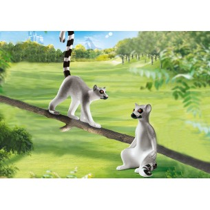 PLAYMOBIL-LEMURI CATTA-FAMILY FUN