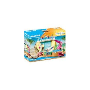 PLAYMOBIL 70435 - BUNGALOW CON PISCINA