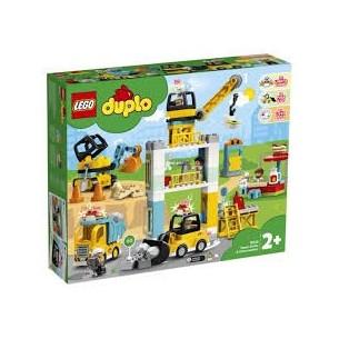 LEGO DUPLO 10933 - CANTIERE EDILE CON GRU E TORRE