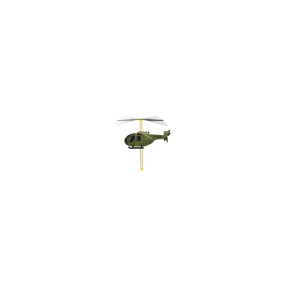 Elicottero Verde : Vilac modellismo elicottero verde a elastico