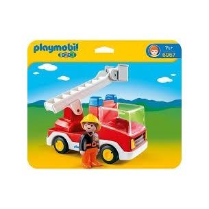 PLAYMOBIL1-2-3- - AUTOSCALA PER I PICCOLI