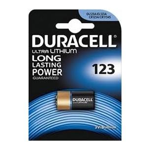 DURACELL - PILA 123 ULTRA LITHIUM