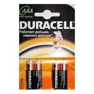 DURACELL - PILE AAA BLISTER DA 4 PEZZI