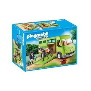 PLAYMOBIL 6928 -FURGONE TRASPORTO CAVALLI