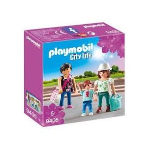 PLAYMOBIL 9405 - SHOPPING GIRLS -