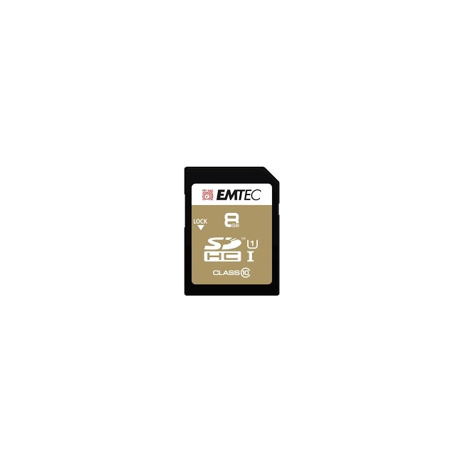 EMTEC SCHEDA SD DA 8 GB