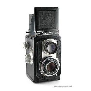 VINTAGE - CIROFLEX 6x6 - APPARECCHIO FOTOGRAFICO ANN0 1950