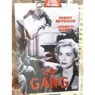 DVD -FILM LA GANG con ROBERT MITCHUM ANNO 1952